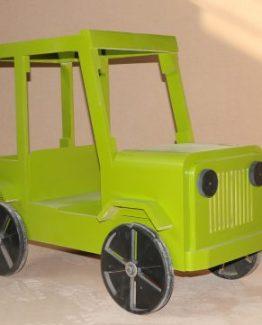 دکور اتلیه کودک ماشین جیپ