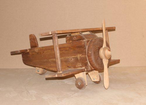دکور اتلیه کودک هواپیما چوبی