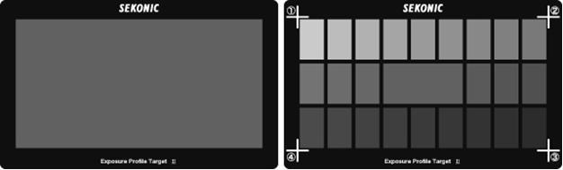 SEKONIC Xrite Exposure Profile Target II