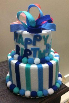 کیک دوطرفه پاپیون